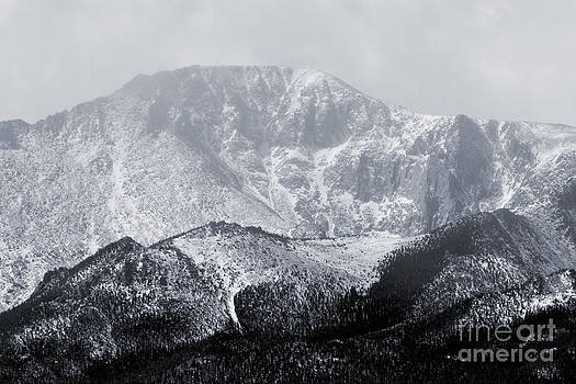 Steve Krull - Cloudy Misty Pikes Peak