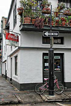 Clover Grill on Bourbon Street by Lynn Jordan