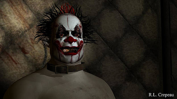 Robert Crepeau - Clown in a Padded Cell