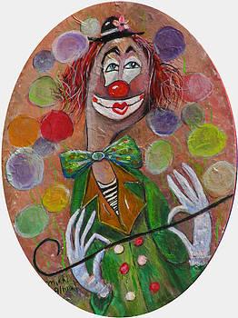 Clown by Mikki Alhart
