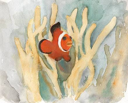Clownfish by Bev Veals