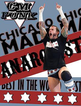 C.M. Punk by G B S by Anibal Diaz