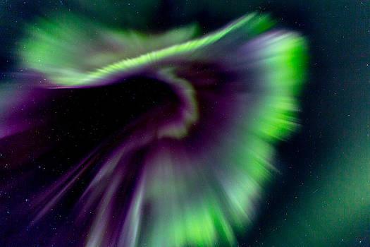CME Aurora Borealis by Sam Amato