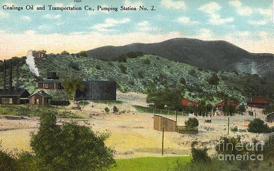California Views Mr Pat Hathaway Archives - Coalinga Oil and Transportion Co. Pumping Station No. 2 Circa 1910