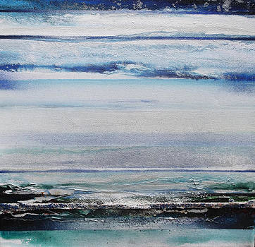 Coast Rhythms and texturesblueand silver 1 by Mike   Bell
