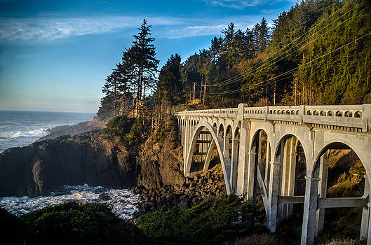 Coastal Bridge by Jesse Wright