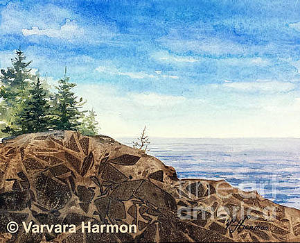 Coastal Rocks by Varvara Harmon