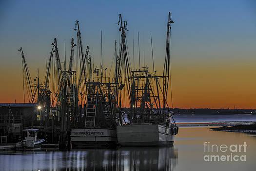 Dale Powell - Coastal Sunset