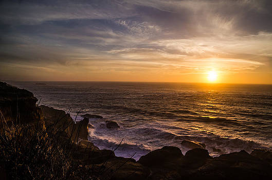 Coastal Sunset by Jesse Wright
