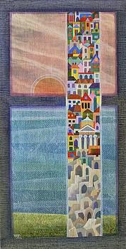 Coastal Town by Jennifer Baird