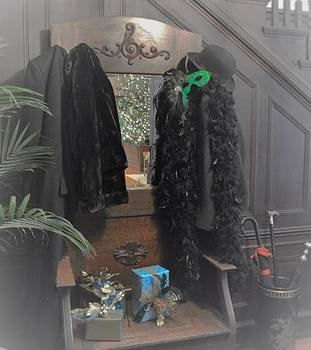 Coat Rack 1 by Wanda J King