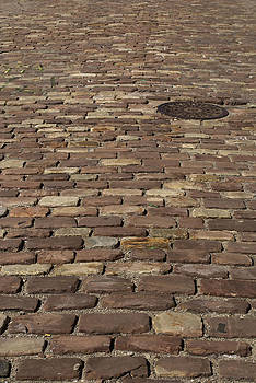 Cobbled Street by Kelly E Schultz