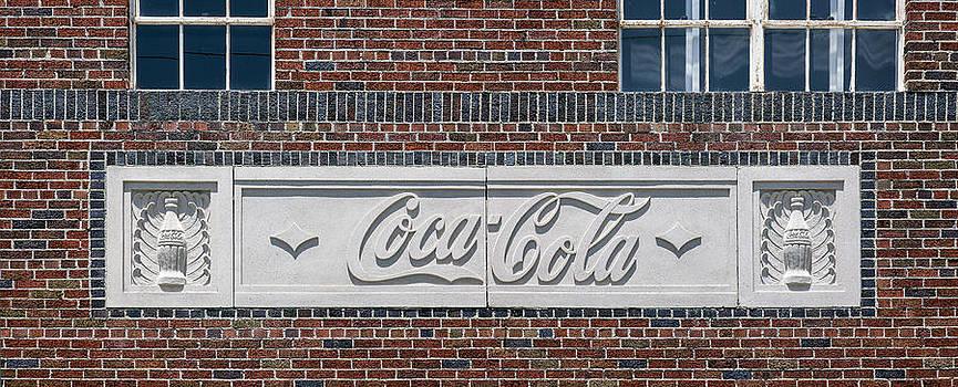 Lynn Palmer - Coca Cola in Carved Stone