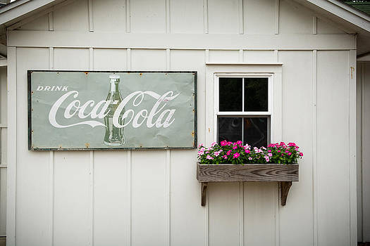 CocaCola and Flowers by Dustin Ahrens