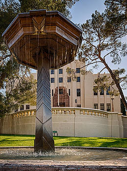 Cochise County Courthouse by Beverly Parks
