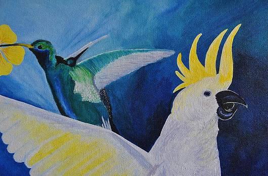 Cockatoo by Julietta  Haynes