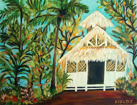 Coco Palms Wedding Chapel Kauai Hawaii  by Karen Fields
