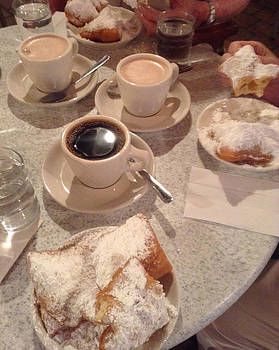 Coffee and Beignets by Alison Stein