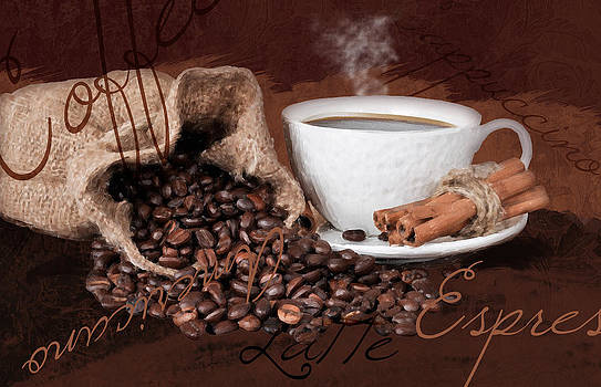 Coffee Aroma by Tanya Hall