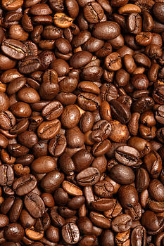 Coffee beans by Ron Sumners