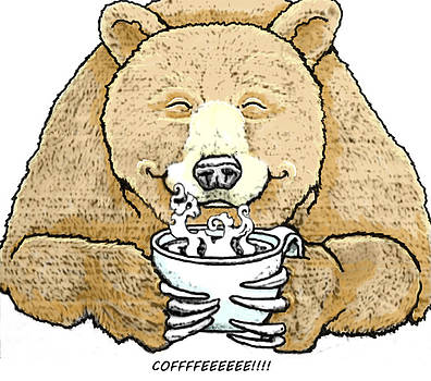 Coffee Bear by Lorna Babcock