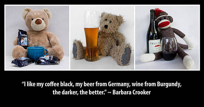 Coffee Beer and Wine by William Patrick