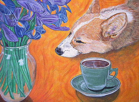 Coffee break by Karen Howell