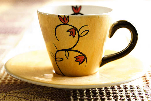 Coffee cup by Blink Images