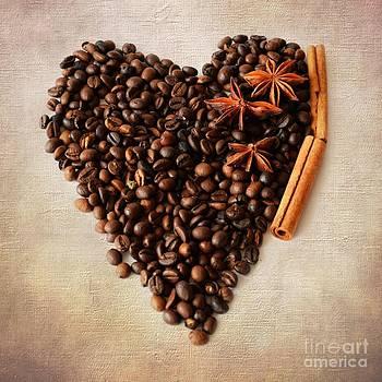 Coffee Heart I by Katerina Vodrazkova