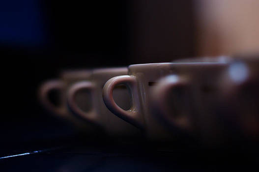 Coffee in the row by Iva Krapez