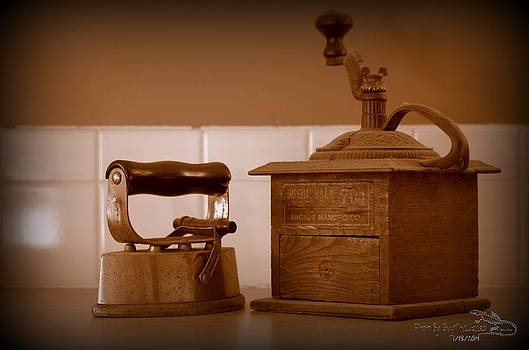 Guy Hoffman - Coffee Mill and Iron