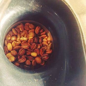 #coffee #roasting #airpopper by Zarah Delrosario