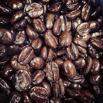 #coffee The Oils Were So Fresh On These by Malcolm Van Atta III
