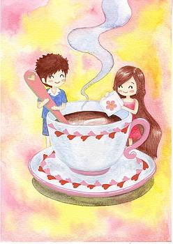 Coffee you and me by Donlapak Chaithavorn
