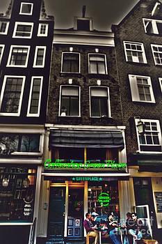 Coffee Shop Amsterdam by Miryam  UrZa