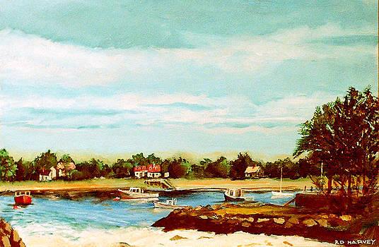 Cohasset Harbor by Robert Harvey