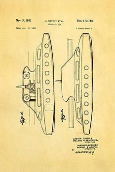 Ian Monk - Cohen Monorail Toy 2 Patent Art 1953