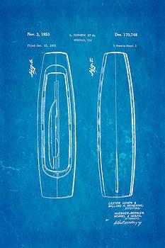 Ian Monk - Cohen Monorail Toy Patent 4 Art 1953 Blueprint