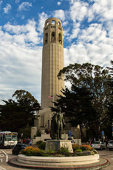John Daly - Coit Tower and Bus