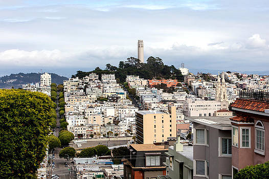 Art Block Collections - Coit Tower San Francisco