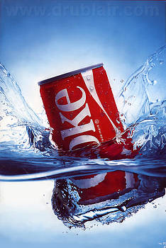 Coke Can by Dru Blair