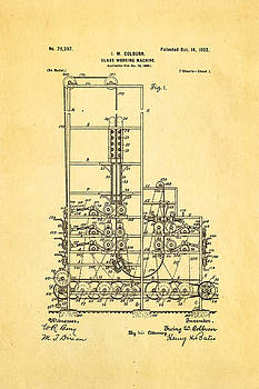 Ian Monk - Colburn Flat Glass Working Machine Patent Art 1902