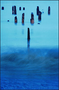 Cold Blue Lake by Fuad Azmat
