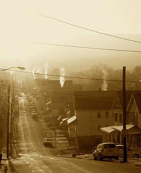 Cold Coal Town Morning by Feva  Fotos