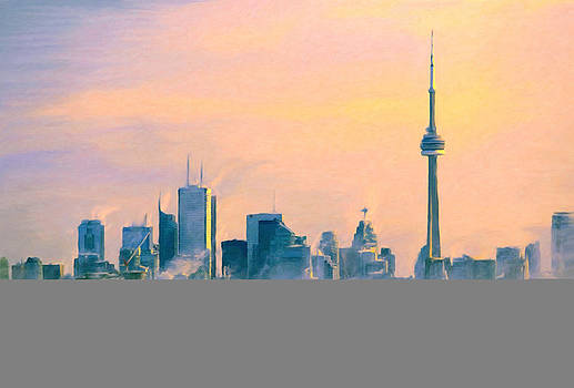 Cold Toronto Morning by Angela Stanton