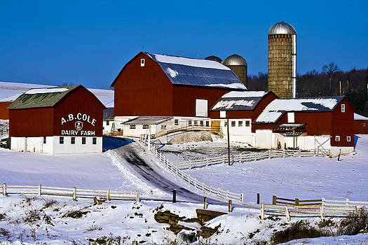 Cole Dairy Farm by David Simons
