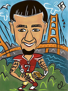 Colin Kaepernick - Achievement by Micheleh Center