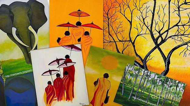Collage Work by Rekha Artz