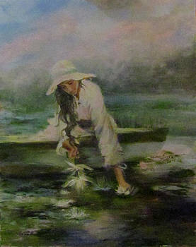 Collecting Lotus by Jill Holt