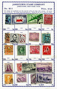 Kathleen K Parker - Collecting Stamps 1